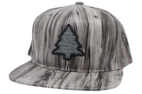 alder woodgrain hat