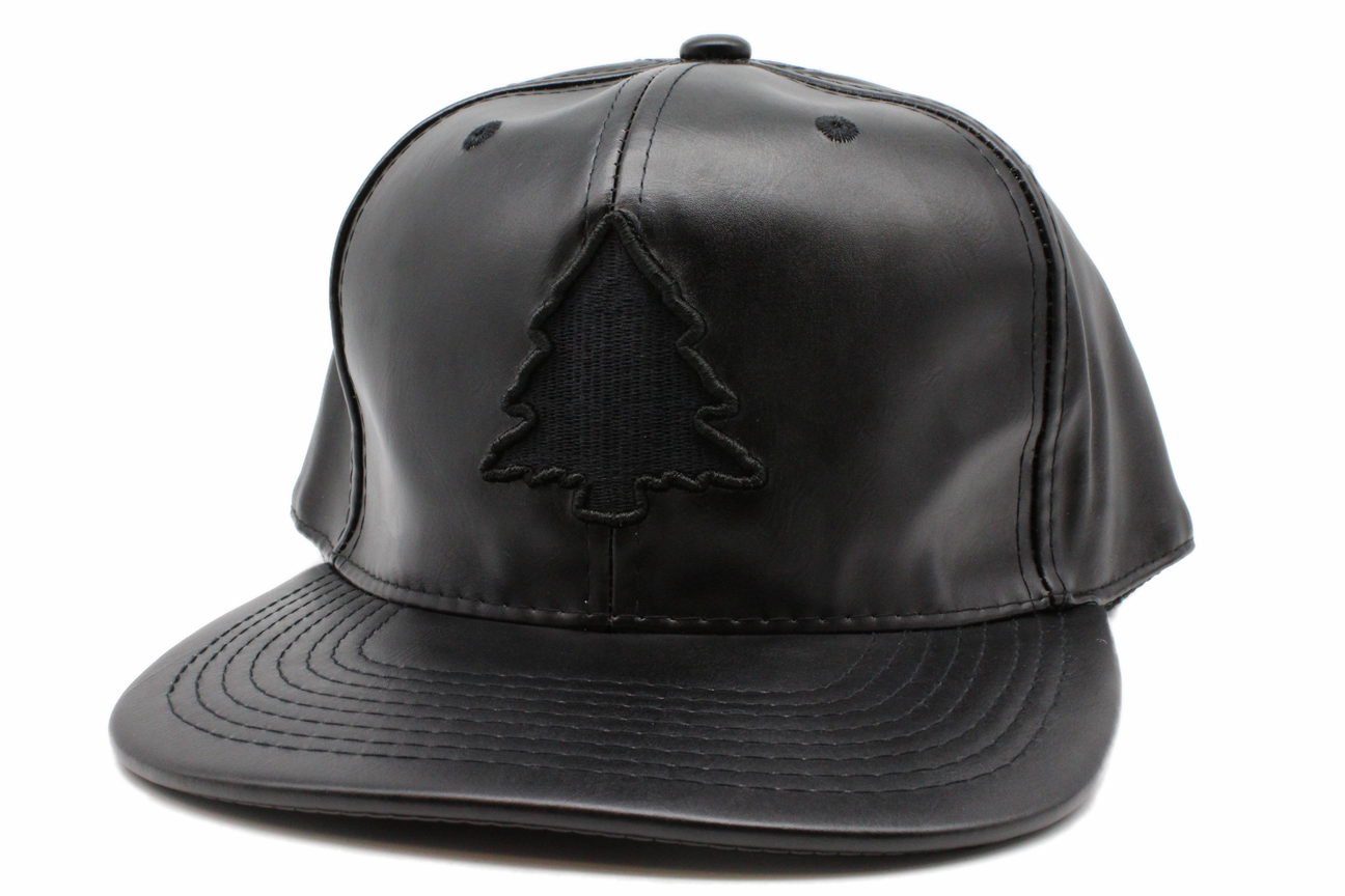 70a58ee6cc0413 Fresh Black Leather Hat | Fresh Air Clothing