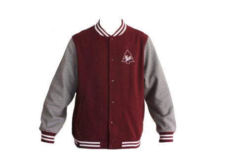 Burgundy player jacket